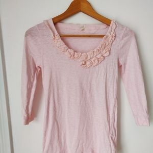 Pretty in Pink J.Crew top